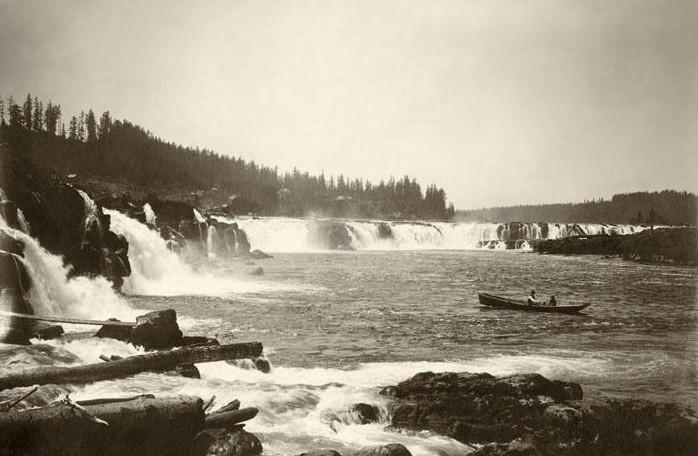 Willamette Falls circa 1920