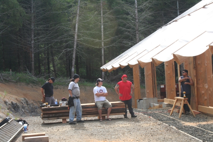 Building the Grand Ronde Plankhouse