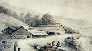 Tolowa Coastal town 19th century