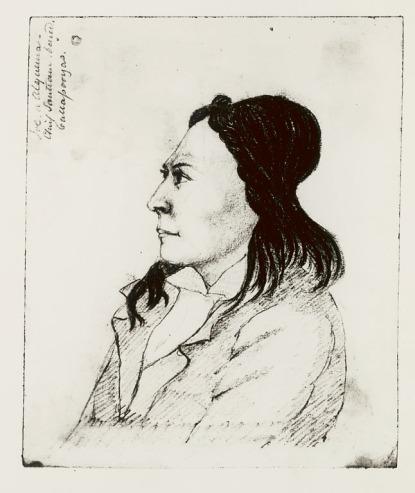 Chief Alquema/Joseph Hutchins 1841