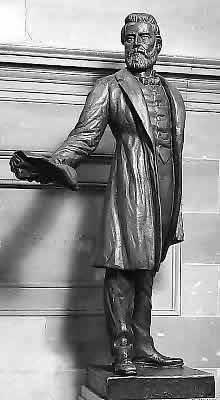 Jason Lee Statue, Capitol Rotunda