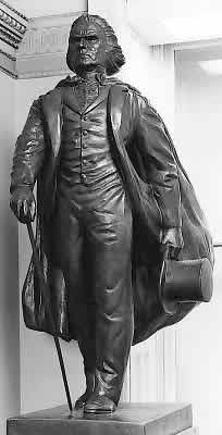 John McLoughlin Statue, Capitol Rotunda