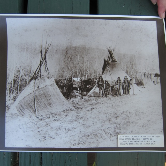 Molalla Encampment, Late 19th century