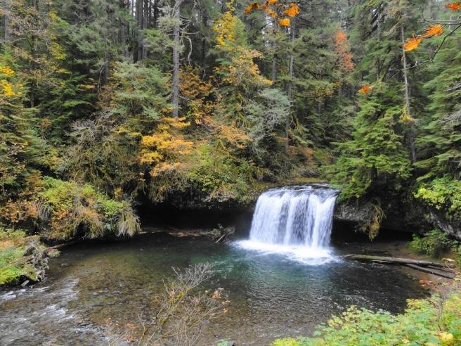 Waterfall on Abiqua Creek