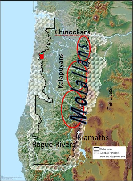 molalla map