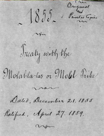 mollla treaty first page