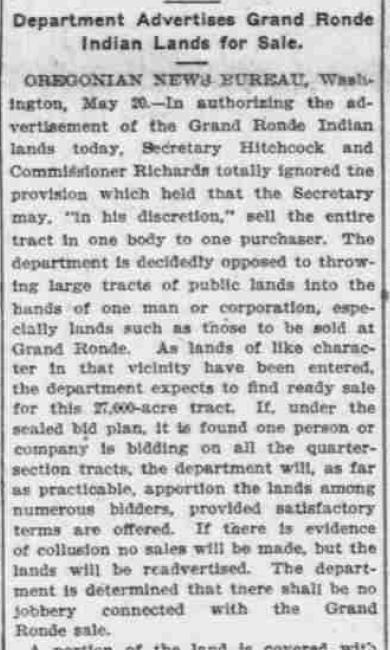 Oregonian, May 21, 1904