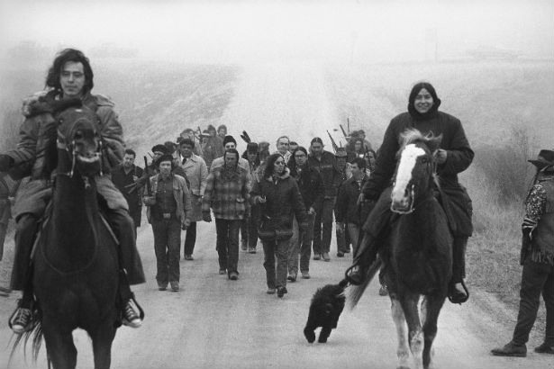 AIM Horse Caravan to Wounded Knee, 1973