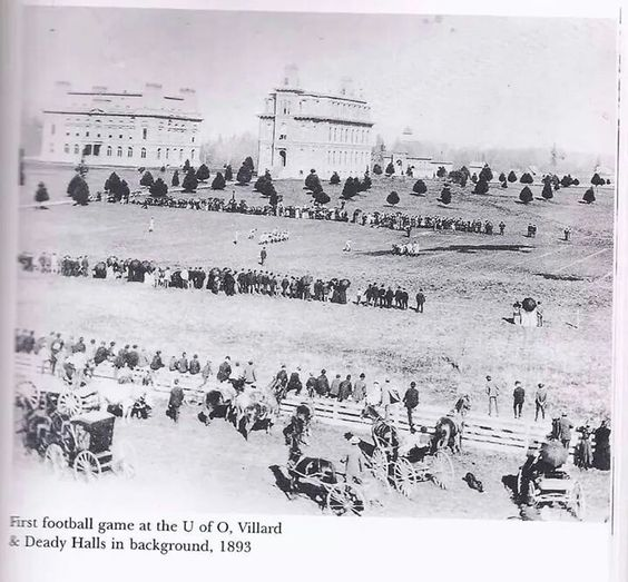 UO, first football game 1893, UO Special Collections