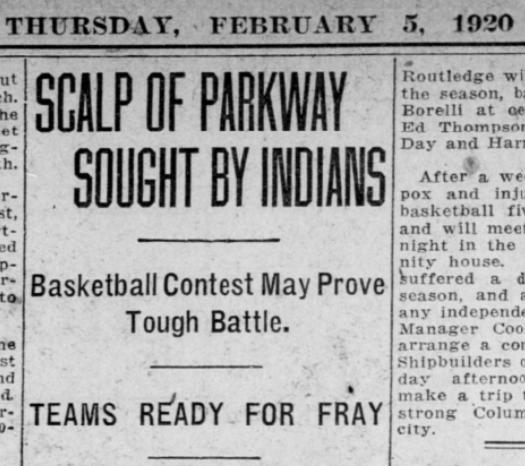 1920 basketball