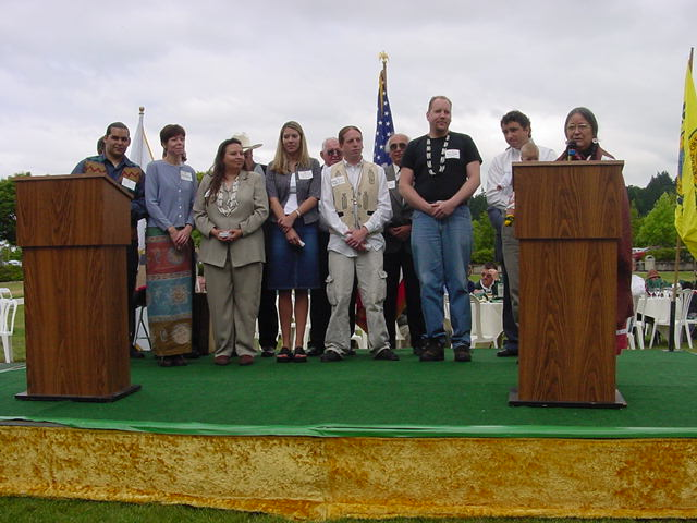 SWORP II Team at Potlatch 2001