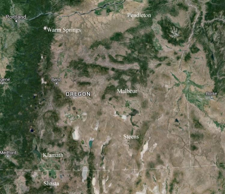 Paiute Region, Eastern Oregon