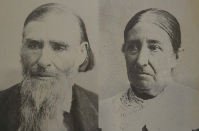 Jacob and Hannah Hammer, Courtesy Loretta A. Olds