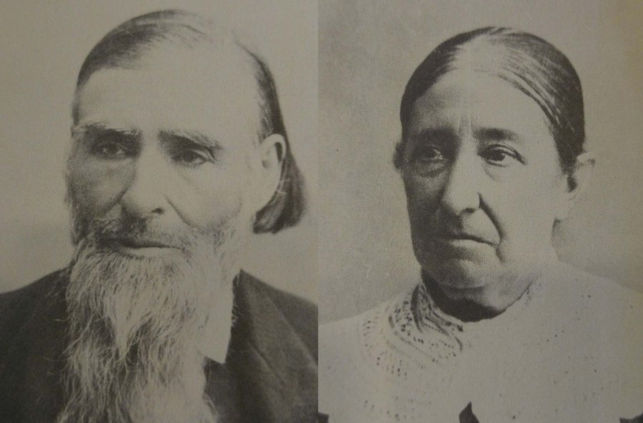 Jacob and Hannah Hammer, Courtesy Loretta A. Olds