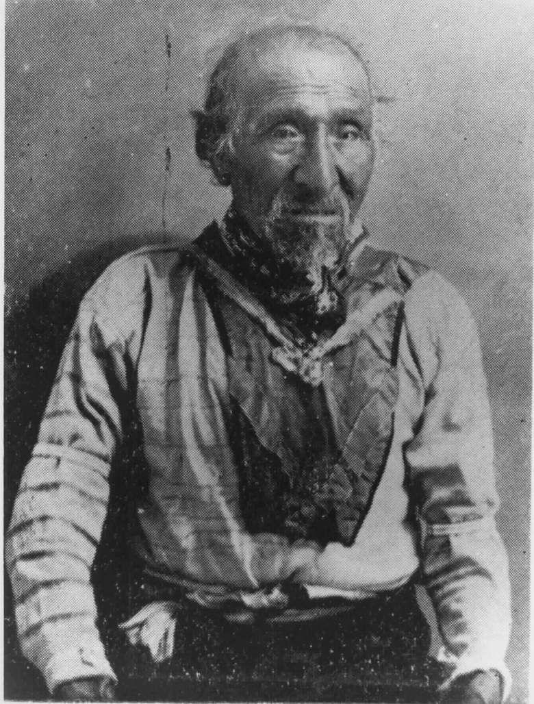Chief John, likely Shasta Chief