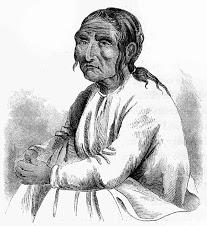 Chief Comcomly, Paul Kane Drawing