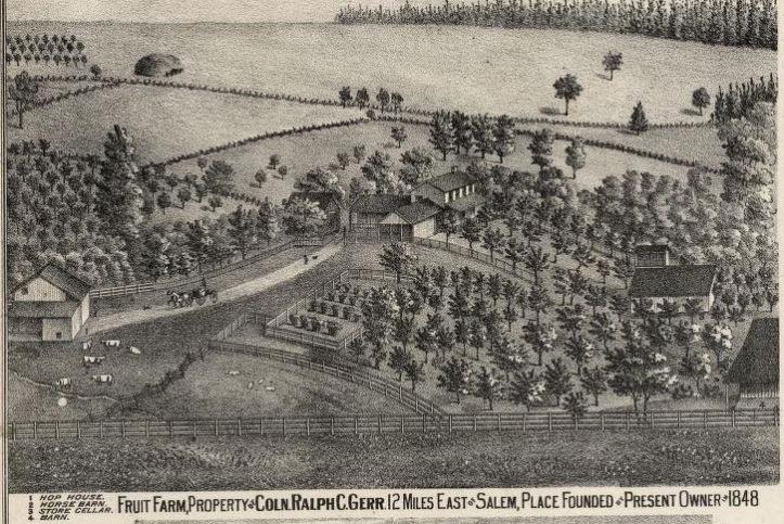 RC Geer Farmhouse Clip 1878 Marion Atlas
