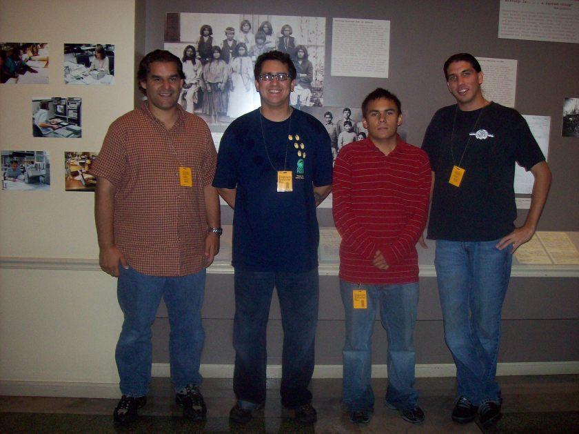 SWORP III team, David Lewis, Leslie Riggs, Sandin Riddle, Dennis Worden