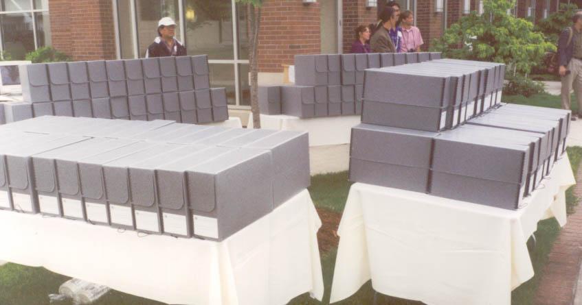 The SWORP II gift, 2001