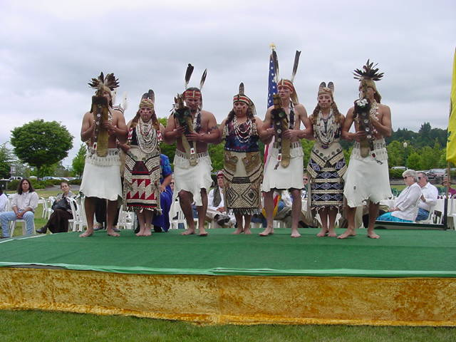 Smith River, Tolowa Feather Dancers, 2001 Potlatch