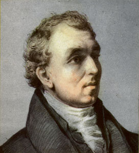 Macnee's 1829 portrait of David Douglas. Linnean Society, London