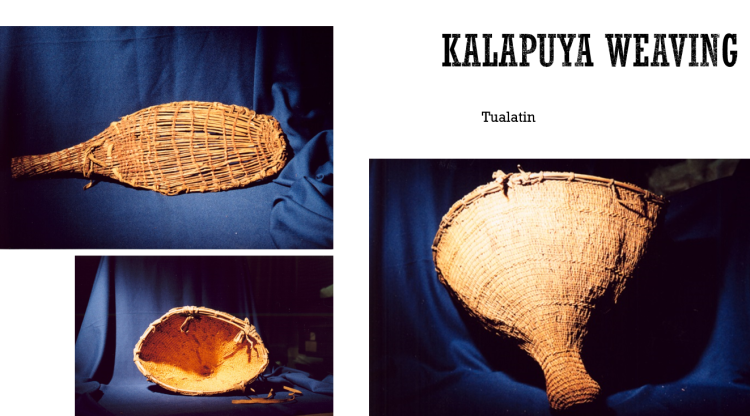 Summers collection Kalapuyans baskets at the British Museum