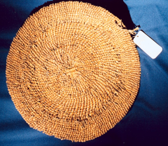 Tualatin basket, Summers Collection, British Museum, Photo courtesy of CTGR